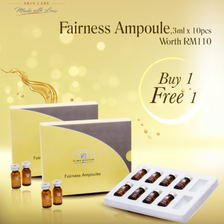 Fairness Ampoules